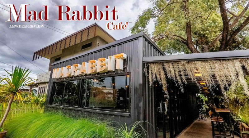 """แอ่วดีพาชิล & ชิม ณ ร้าน """"Mad Rabbit Café"""""""